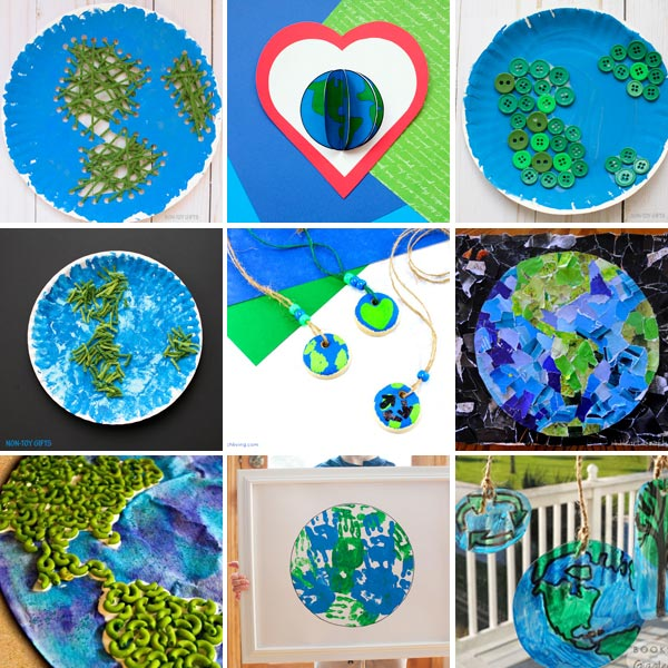Earth Day crafts for kids 1