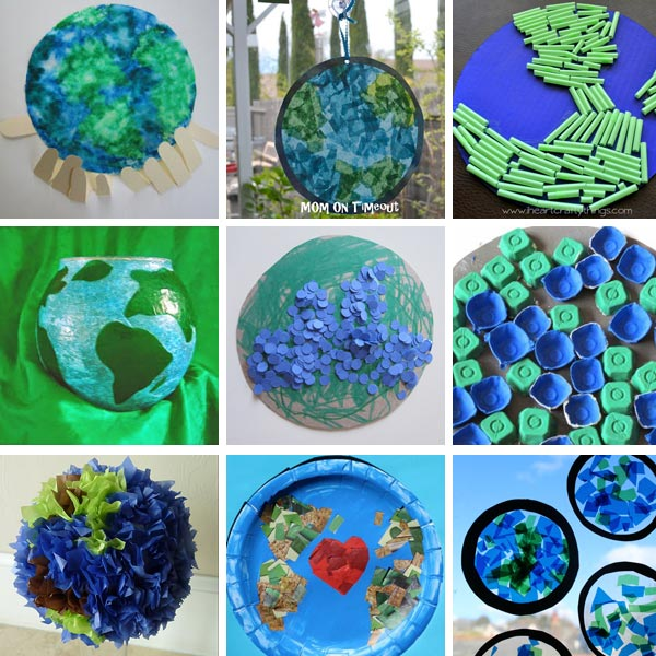 Earth Day crafts for kids 2