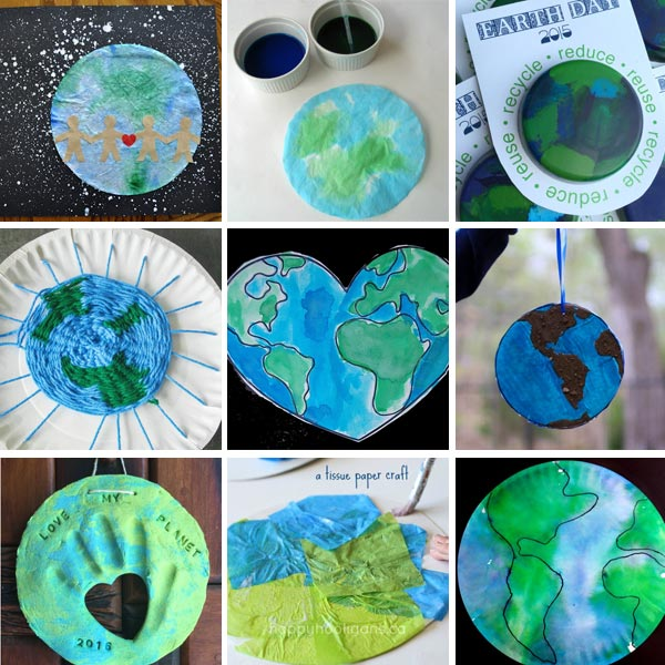 Earth Day crafts for kids 3
