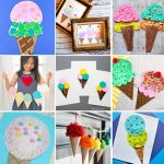 15 Ice cream crafts for summer time