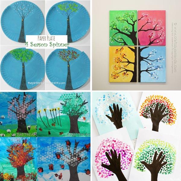 4 season tree crafts