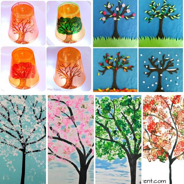 Four season art