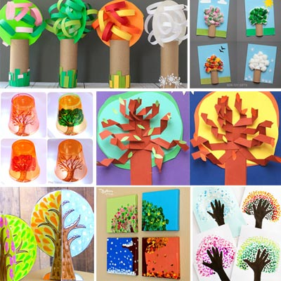 23 Four seasons arts and crafts for kids