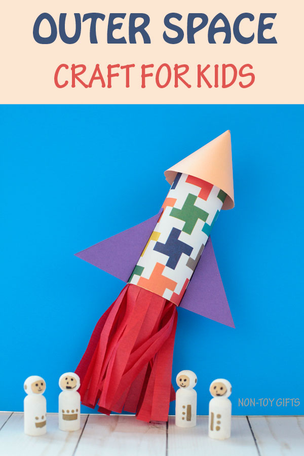 Outer space craft for kids
