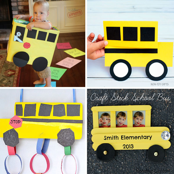 School bus crafts 1