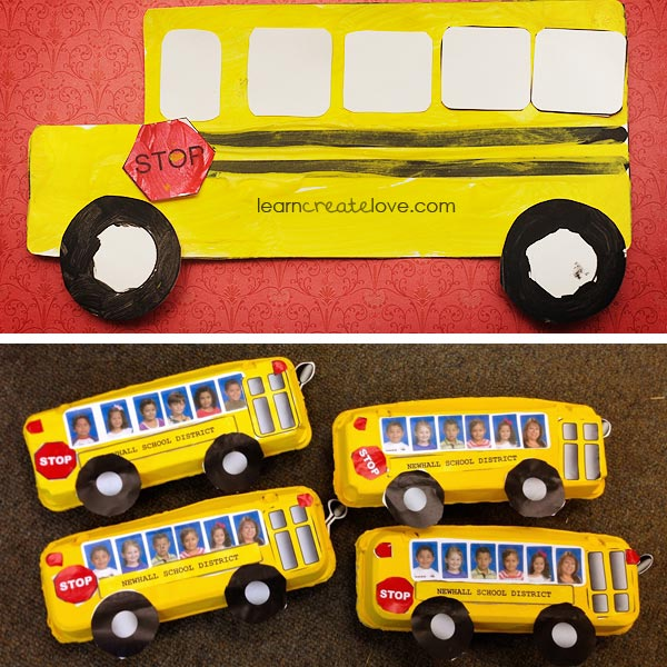 School bus crafts 2