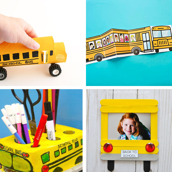 School bus crafts 3