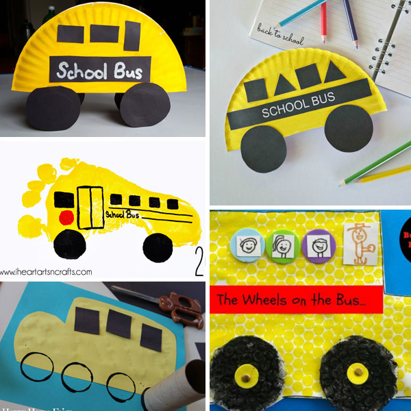 School bus crafts 4