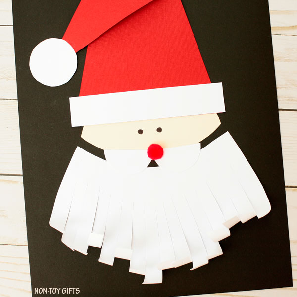 Christmas craft for kids: Santa