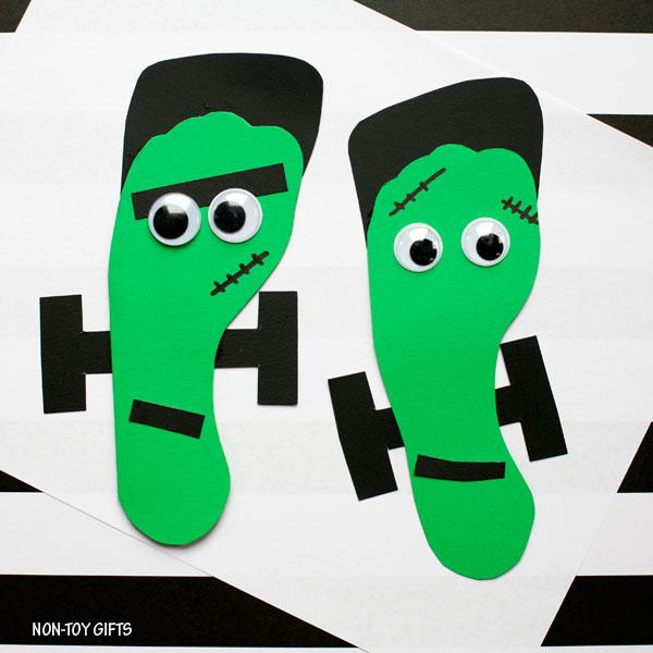 Footprint Frankenstein card