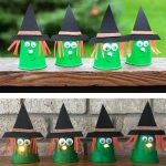 Paper cup witch craft