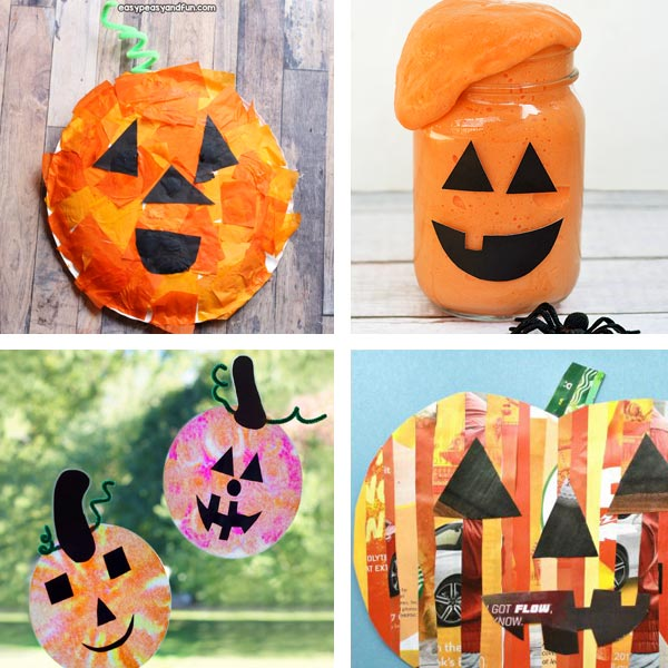 Jack'O'Lantern crafts for kids 10