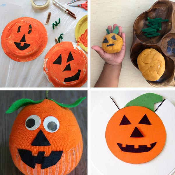 Jack'O'Lantern crafts for kids 11