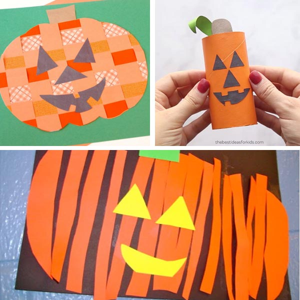 Jack'O'Lantern crafts for kids 12