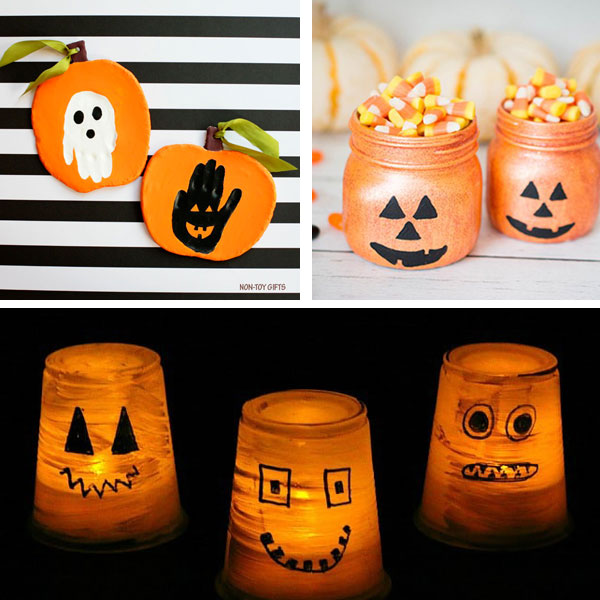 Jack'O'Lantern crafts for kids 2