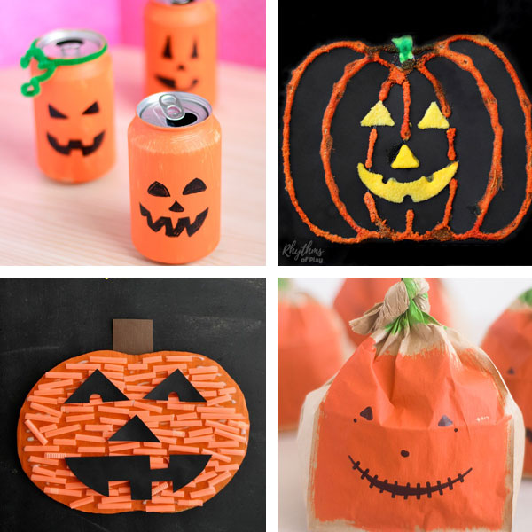 Jack'O'Lantern crafts for kids 5