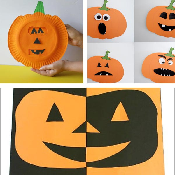Jack'O'Lantern crafts for kids 7