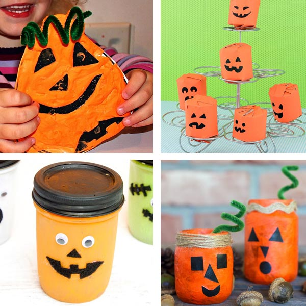 Jack'O'Lantern crafts for kids 8