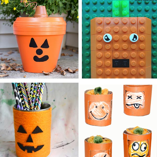 Jack'O'Lantern crafts for kids 9