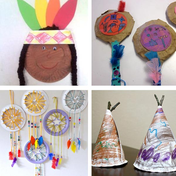 Paper plate Thanksgiving crafts 10