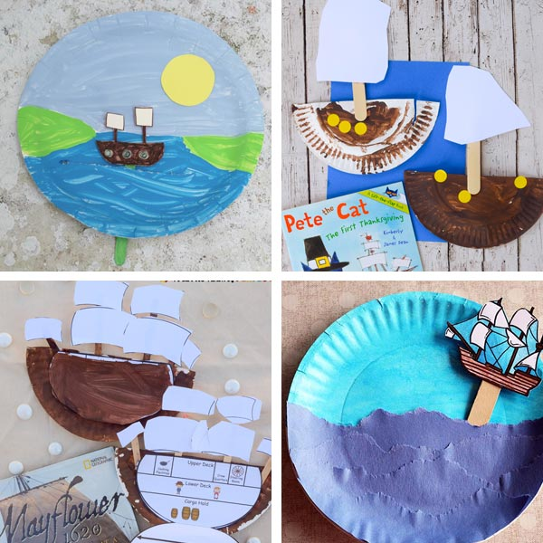 Paper plate Thanksgiving crafts 9