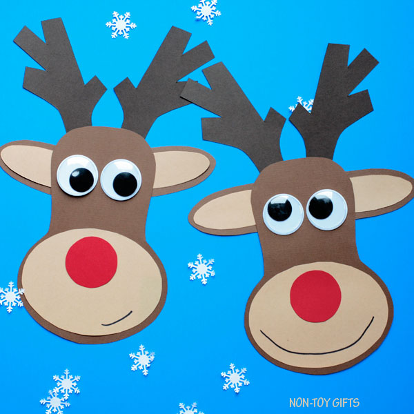 Easy reindeer craft for kids