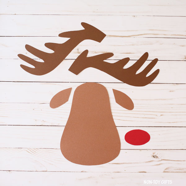Sleeping reindeer craft patterns