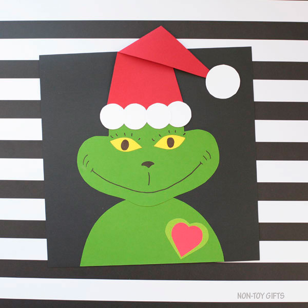 Easy paper Grinch