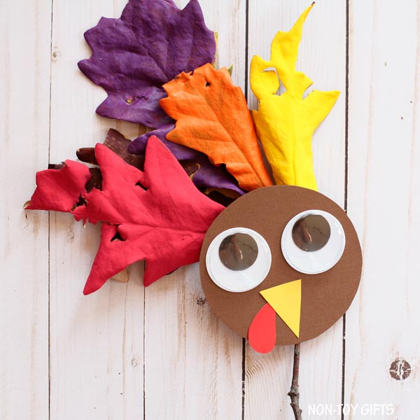 Easy turkey craft for kids