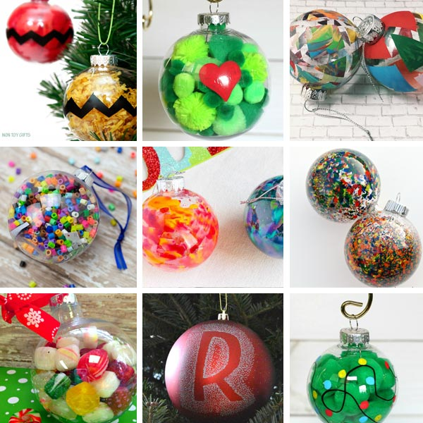 Ornaments kids can make 1