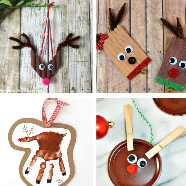 Ornaments kids can make reindeer