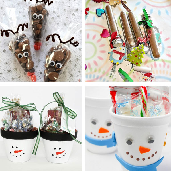 Christmas gifts kids can make - treats