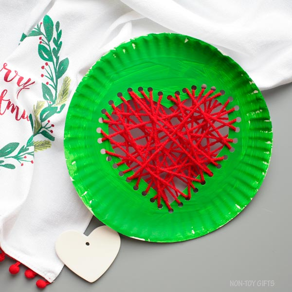 Grinch craft for kids