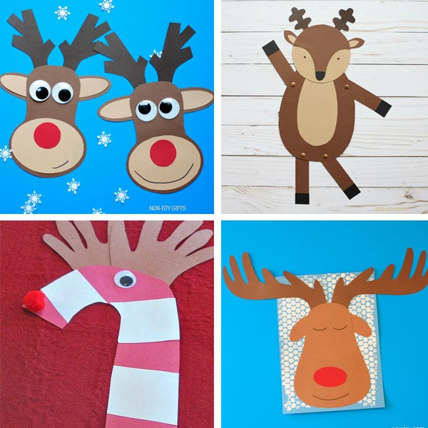 Reindeer crafts for kids 1