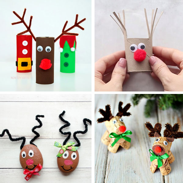 Reindeer crafts for kids 10