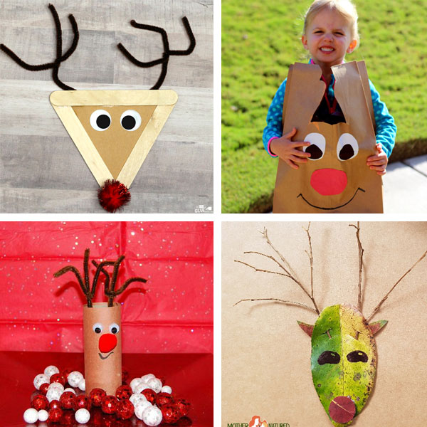 Reindeer crafts for kids 11