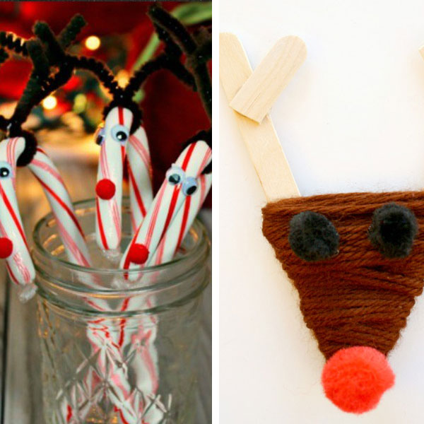 Reindeer crafts for kids 12