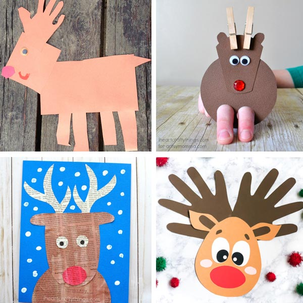 Reindeer crafts for kids 2