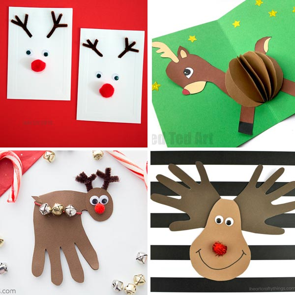 Reindeer crafts for kids 4