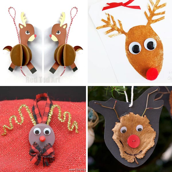 Reindeer crafts for kids 6