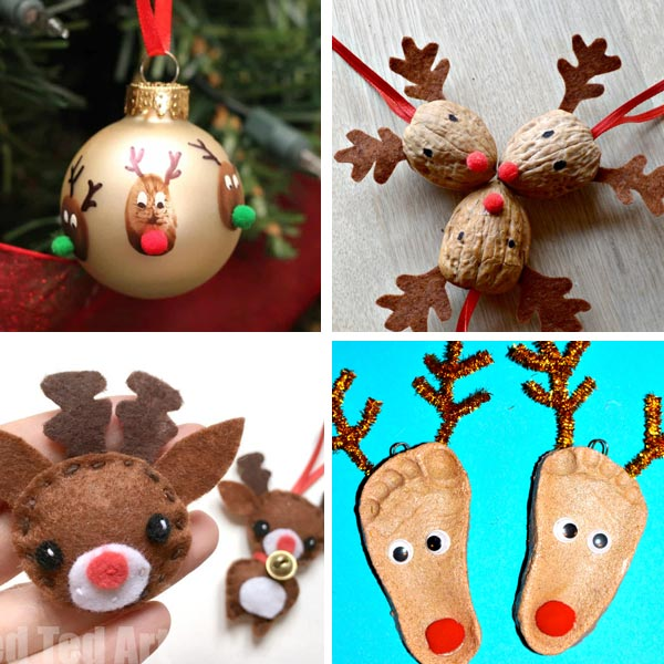 Reindeer crafts for kids 8