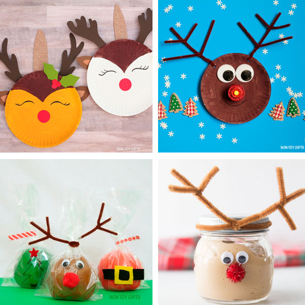 Reindeer crafts for kids 9