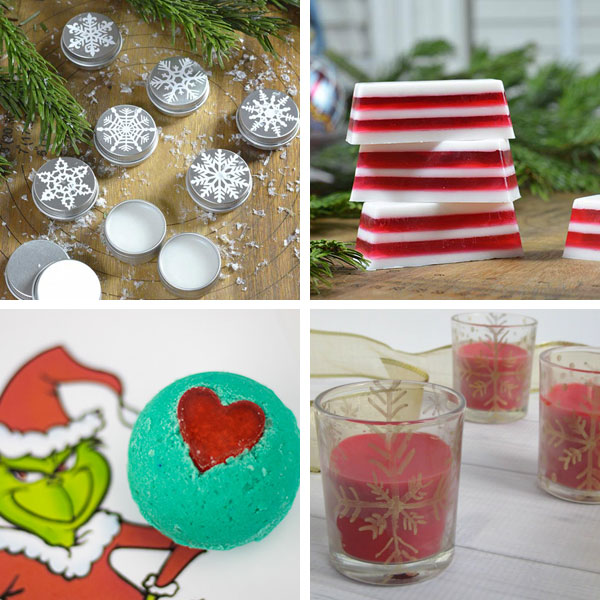 Spa Christmas gifts kids can make