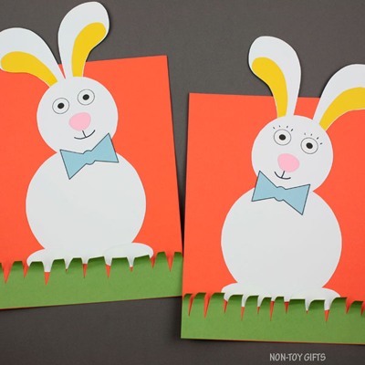Bunny craft kit for kids