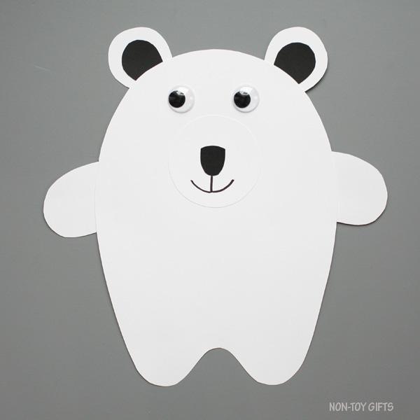 Polar bear mouth