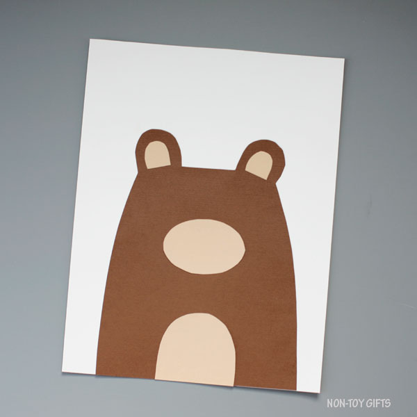 Bear tummy