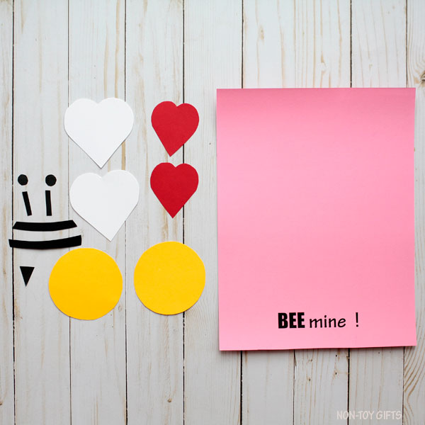 Bee mine template