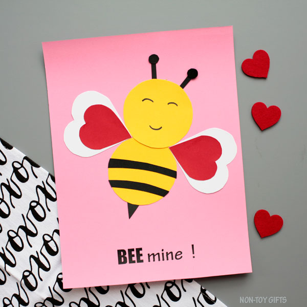 Bee mine! craft for kids