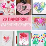 20 Handprint Valentine crafts for kids