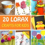 20 Lorax crafts for kids